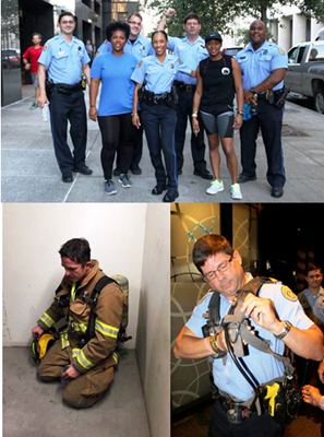 NOPD to Join First Responders in the 2017 Memorial Stair Climb