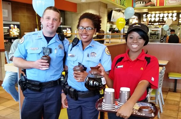 Coffee with Cops Returns This Saturday