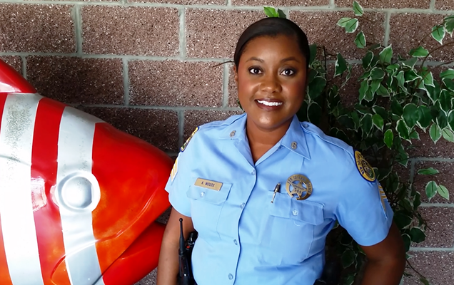 OFFICER PROFILE: Sixth District Songbird is Dedicated to a Life of Service