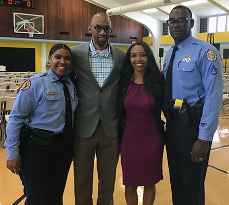 NOPD Officers RISE to the Occasion When it Comes to Helping Kids