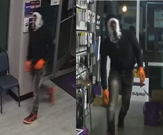 Suspect Wanted for Business Burglary on Rousseau Street