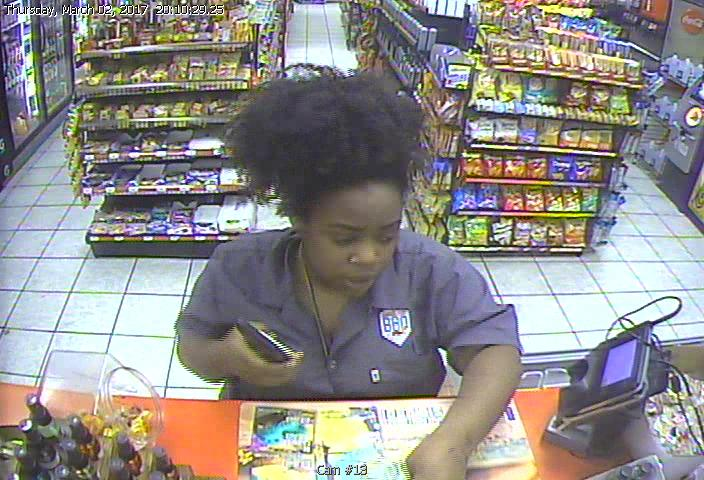 Suspect Sought in Shoplifting on Downman Road