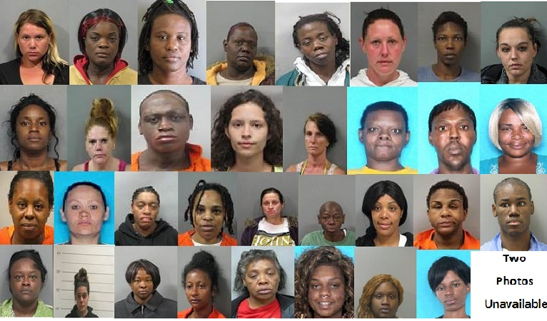 NOPD Arrests More Than 30 Individuals for Prostitution and Narcotics  Violations