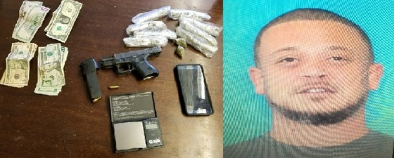 Narcotics Investigation Leads to Arrest of Suspect on Gun and Drug Charges